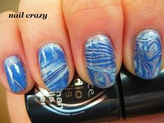 really neat nail design...want to do it