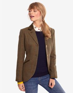 Austine Toad Green Jacket , Size US 6 | Joules US