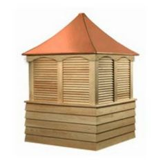 """Check out the Good Directions 2184S 84"""" x 123"""" Sherwood Wood Cupola"""