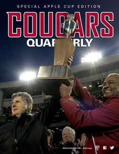 Cougar Athletic Fund members! An early Christmas gift will be hitting your mailboxes soon. Here's a hint. Go Cougs!