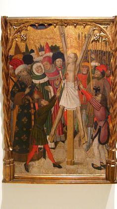 Bernat Martorell, 1442-1445-retaula de Sta Eulalia. Catalunya