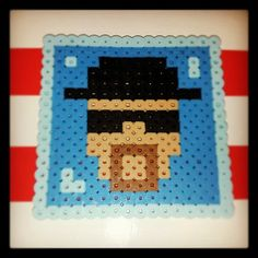 Breaking Bad Heisenberg perler beads by pr1me_e1gh7