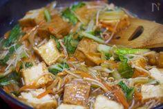 とろみづけ不要♪『厚揚げと白菜の中華あんかけ』 by Yuu | レシピサイト「Nadia | ナディア」プロの料理を無料で検索
