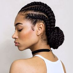 When it comes protective hairstyles, you haven't done anything if you haven't tried out Ghana braids. Check out this list of the top 10 Ghana braids styles. Ghana Braids Hairstyles, Over 40 Hairstyles, Black Women Hairstyles, Braided Hairstyles, African American Hairstyles, Protective Hairstyles, Hairstyles 2018, Gorgeous Hairstyles, Fashion Hairstyles