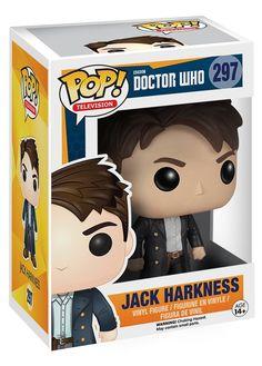 Doctor Who POP Vinyl Figure: Jack Harkness