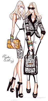 Hayden Williams#illustrated #Fashion