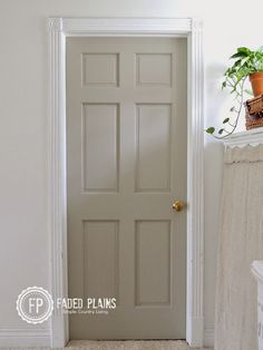 Bright And Happy Nashville Home Tour Grey Interior Doors Grey And Repose Gray