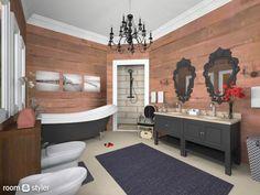 Roomstyler.com - Brown Bathroom