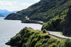 Lake Wakatipu, Te Anau to Queenstown, South Island road trip itinerary New Zealand.