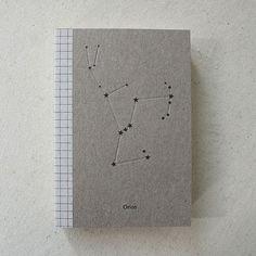 Constellation & Co sketchbook