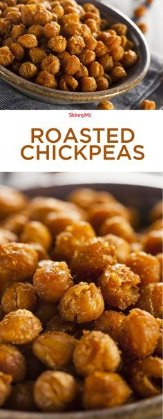 Roasted Chickpeas - Flavorful, BOLD, and crunchy!