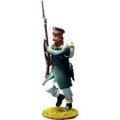 NP 355 East Prussian Landwehr charging 2