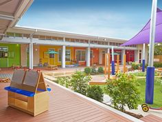 Child care centre designed from kid's perspective but uses grown up materials | Architecture And Design