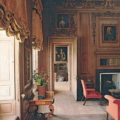 Drawing Room, Beningbrough Hall, York - David Mlinaric