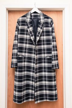 "Inside Alan Eckstein and Haley Loewenthal's Closet: ""This is one of my favorite coats ever... I made it last fall."" — Alan 