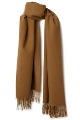<p>The Tuva Shawl is a classic shawl with fringes on the short sides anda fine knitted texture made of wool.</p>