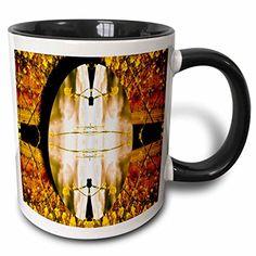 Jos Fauxtographee Abstract - A meadow of orange and yellow with an oval-shape of flowers - 11oz Two-Tone Black Mug (mug_39823_4) 3dRose http://www.amazon.com/dp/B01351SA20/ref=cm_sw_r_pi_dp_ADbYvb045MCG5