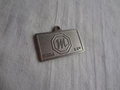 Chaveiro Mesbla Veiculos , Com Timbre Galaxie 500 Unico - R$ 180,00 no MercadoLivre