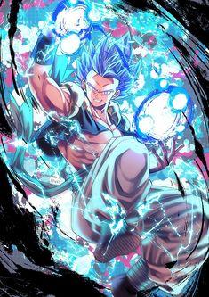 Gogeta from Dragon Ball Super Broly Dragon Ball Gt, Dragon Ball Image, Cool Anime Wallpapers, Animes Wallpapers, Dragonball Evolution, Dragonball Super, Z Arts, Son Goku, Character Art