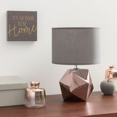 Mix-and-match furniture & decor Copper Bedroom Decor, Copper Decor, Grey Home Decor, Teen Room Decor, Living Room Decor, Copper Wall, Copper And Grey Living Room, Living Room Grey, Lounge Decor