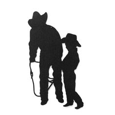 Cowboys Father and Son Metal Sign by RillaBee on Etsy, $40.00