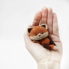 Новости red panda, image only Crochet Animal Amigurumi, Crochet Fox, Crochet Animal Patterns, Stuffed Animal Patterns, Cute Crochet, Crochet For Kids, Amigurumi Doll, Amigurumi Patterns, Crochet Animals