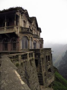 The Mansion of Tequendama Falls A Formerly Abandoned Hotel