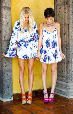 Red Rocks Romper in Petal Paint by Show Me Your Mumu   Fitzroy Boutique