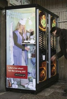 Funny Pictures Of The Day – 112 Pics Very funny ads why did i laugh so hard at this.de Guerilla Marketing: Brilliant sticker a. Creative Advertising, Guerrilla Advertising, Advertising Design, Advertising Campaign, Funny Advertising, Advertising Poster, Guerilla Marketing, Street Marketing, Marketing Jobs
