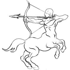 Centaur from Greek Mythology Coloring Page | Kids Play Color