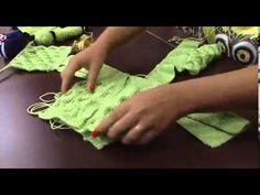 Artesã: Jaqueline Santos Programa: Mulher.com Lã para bebê 1 par de agulha de tricô nº 03 Agulha tapestre 3 botões Esse casaquinho é começado pelas costas e ...