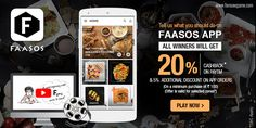 Tell us what you should do on Faasos App.  http://www.foreseegame.com/play-games/Usage-of-Faasos-App/2e63be0e2aafbf19