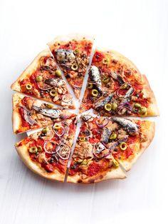 pizza met tonijn, sardine en ansjovis | ZTRDG magazine