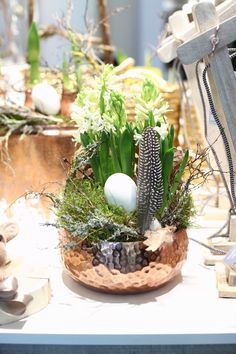 Easter Table, Decoration Table, Happy Easter, Floral Design, Carving, Plants, Diy, Home Decor, Easter Ideas