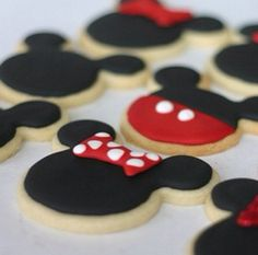 Mickey Mouse club house cookies