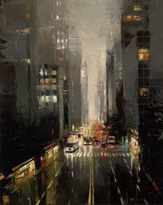☆ 42nd Street :¦: By Artist Victor Bauer ☆