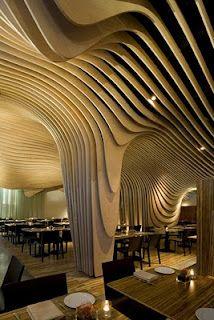 Banq Restaurant in Boston, designed by Office DA.