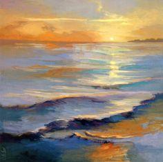 Ocean Overture Print by Vicki McMurray at Art.com