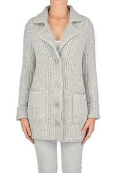 Anneclaire - Cable knit cardigan | Reebonz