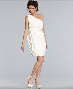 Maggy London Dress Sleeveless One Shoulder D Bubble Hem Tail Women Dresses Macy S