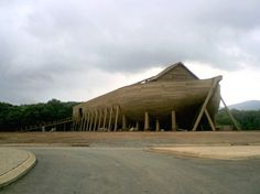 The Ark used for filming was located in Crozet, Virginia.