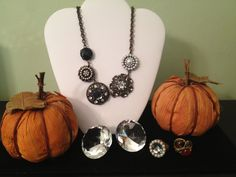 Fall Bling! Curio Necklace $98 or $15 for our Hostesses.  Click to find out how to get FREE jewelry!