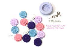 Stampi in silicone-Stampi per il fimo-Stampo Fiore-Stampo Fimo-Stampo Gioielli-Stampi Silicone-Stampini in Silicone-Stampi Fimo-Fimo ST432