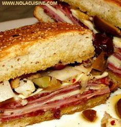 Recipe For  Muffuletta Sandwich