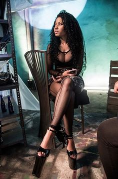 """Prev1 of 11Next Nicki Minaj takes us behind the scenes of her upcoming video """"Only"""" featuring Drake, Lil Wayne and Chris Brown. Here a re a few pics she shared from the set. Her new album The Pinkprint will be released worldwide on December 15th. Hit next page so see all the pics. Prev1 of …"""
