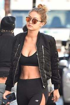 Gigi Hadid's trainer shares her 7-step core-focused workout.