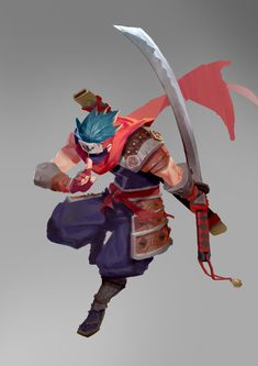 Ninja, Simba tian on ArtStation at https://www.artstation.com/artwork/ninja-069b12a4-8bd6-4605-8308-7744b99cd2ba