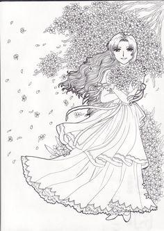 flower girl by witchcrystalchan.deviantart.com on @deviantART