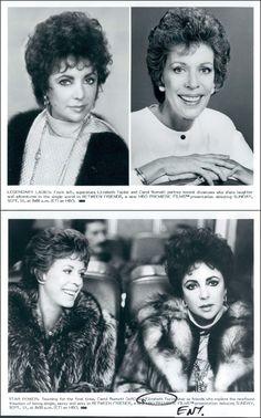 Between Friends (Sunday, Sept. 11, 1983, HBO) starring Elizabeth Taylor &…