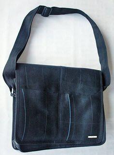 Recycled Tube - Messenger Bag Sack Bag, Sacks, Messenger Bag, Tube, Recycling, Satchel, Tote Bag, Jeans, Bricolage